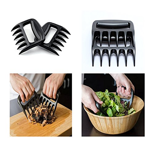 Ecoss BBQ Meat Handler Forks BBQ- Meat Shredder Claws Grill Smoker Bear Paw, Meat Claws, Smoked Barbecue Grilling Accessories(Item#249172) (Grill Accessories Smoker compare prices)