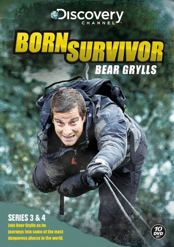 Bear Grylls: Born Survivor - Complete Season Three And Four [DVD]