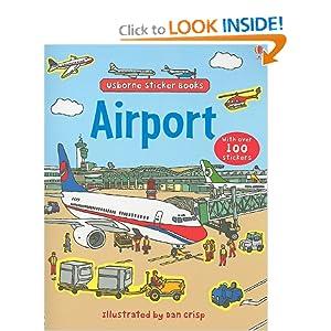 Airport (Usborne Sticker Books) read online