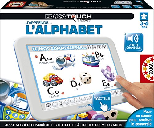 Educa - Jeu Éducatif Electronique - Touch Junior