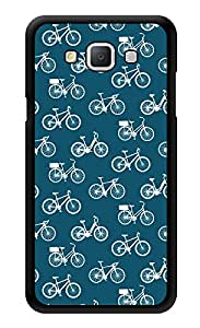 "Humor Gang Cycles Pattern Printed Designer Mobile Back Cover For ""Samsung Galaxy A3"" (3D, Glossy, Premium Quality Snap On Case)"