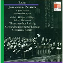 "St. John Passion, BWV 245: Part II - ""W�re dieser nicht ein �belt�ter"""