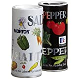 Mortons Salt, Mccormick Pepper Pack, 5.25-ounce Shakers