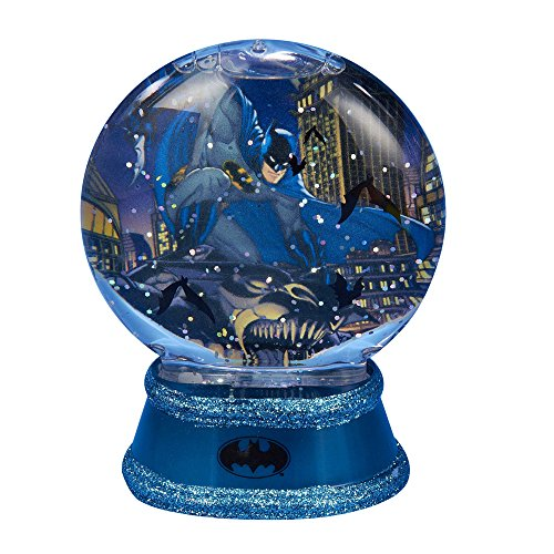 Kurt Adler Batman Lighted Waterglobe, 87mm