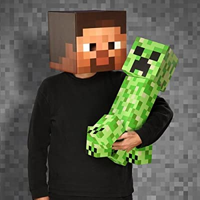 Official Minecraft Giant Foam Creeper Figure 24 Toy 2 Feet Tall by MOJANG