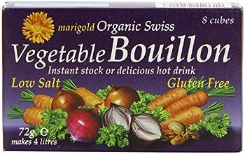 Marigold Organic Swiss Low Salt Vegetable Bouillon Cubes 8x9g