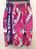 Flow Society Authentic Lacrosse Gear Mesh Shorts Pink Flowvel Ice Cream Cone Sunday size Youth Extra Small XS