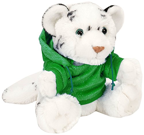 Wild Republic Holiday Hoody CK White Tiger Plush