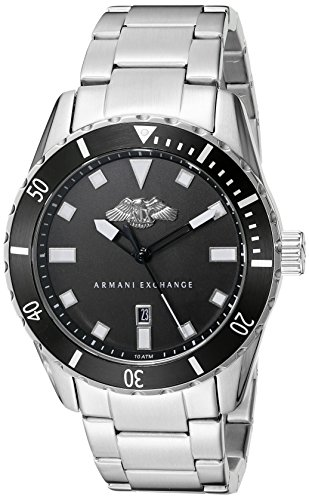 Armani-Exchange-Mens-AX1709-Analog-Display-Analog-Quartz-Silver-Watch