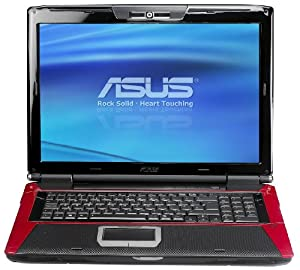 Asus G71GX 43,4 cm (17,1 Zoll) Notebook (Intel Pentium P8700 2.5 GHz, 6GB RAM, 640GB HDD, Nvidia GTX260M, DVD, Vista)