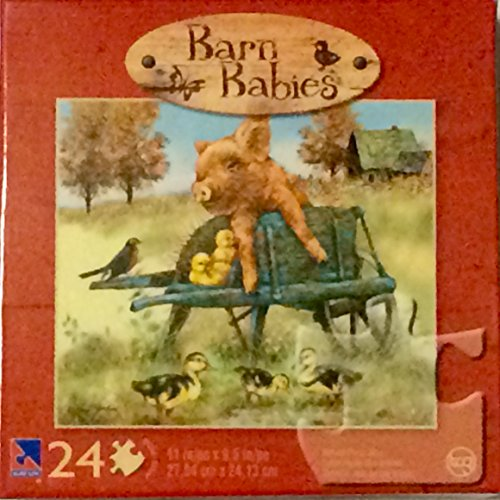 Barn Babies 24 Piece Puzzle - Play Day