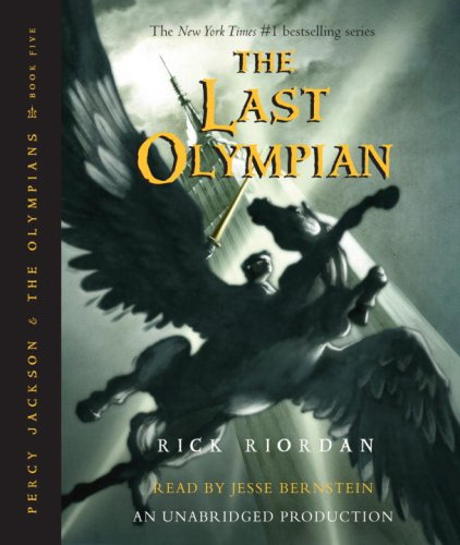 Cover of The Last Olympian