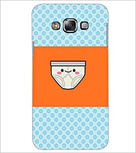 PrintDhaba Funny image D-4890 Back Case Cover for SAMSUNG GALAXY E7 (Multi-Coloured)