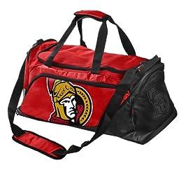 Forever Collectibles NHL Ottawa Senators Medium Locker Room Duffle Bag