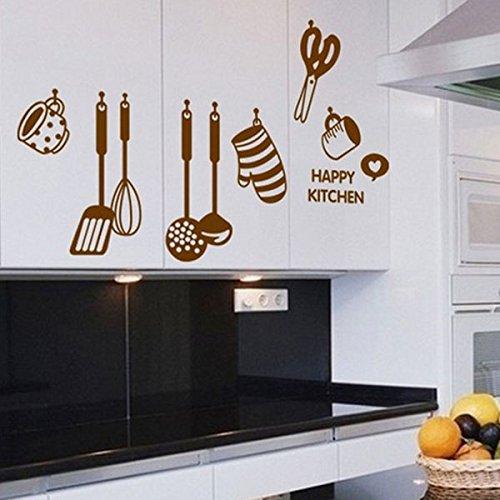 Soled adesivi murales utensili da cucina carta da - Utensili casa ...