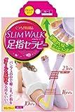 スリムウォーク くつろぎ時間の足指セラピー ロングタイプ ラベンダー M~Lサイズ