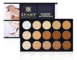SHANY Cosmetics Professional Cream Foundation and Camouflage Concealer