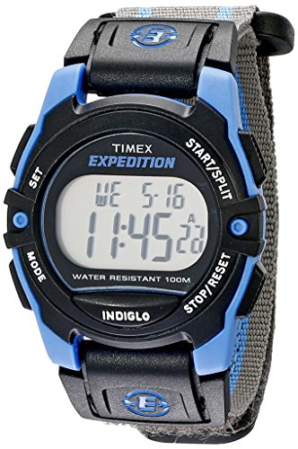 timex-unisex-t49660-expedition-mid-size-digital-cat-gray-blue-stripe-fast-wrap-velcro-strap-watch