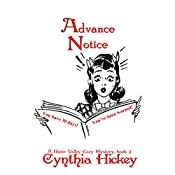 Advance Notice: A River Valley Christian Cozy Mystery Book 2 | Cynthia Hickey