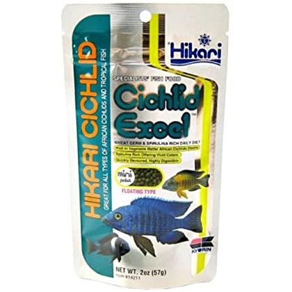 Cichlid Fish Food Pellets Cichlids Excel Pellet Fish