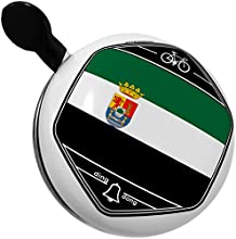 Bicycle Bell Extremadura Flag region Spain by NEONBLOND