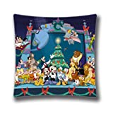 "POP Pillows 16""x16"" 40x40cm Christmas Pillow Covers Decorative Throw Pillows Christmas Disney Christmas Holiday decor"