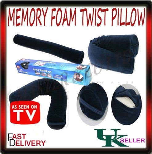 Bend-it Twist-it Memory Foam Pillow