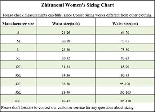 Women Lace Boned Corset Lingerie for Waist training Bustier Clubwear Plus Size 6
