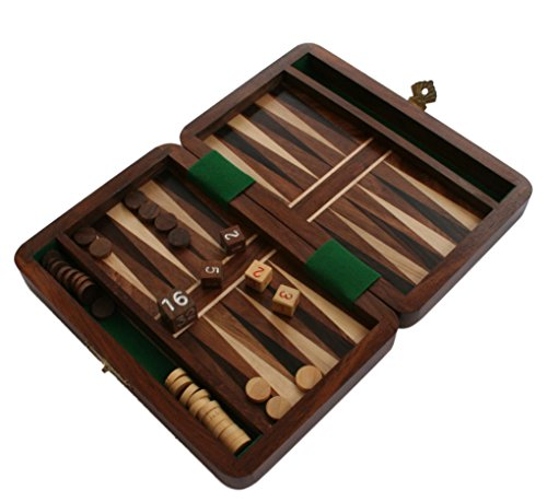 backgammon-travel-set-wooden-board-hand-carved-game-vintage-folding-portable