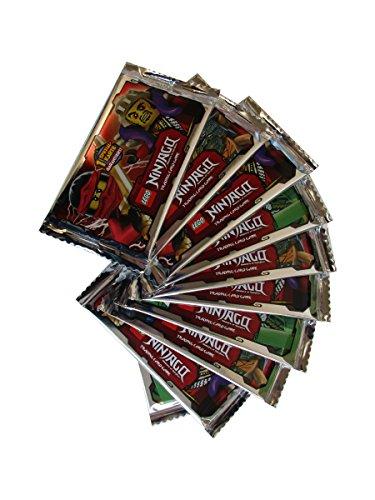 LEGO NINJAGO Trading Cards - 10 Booster