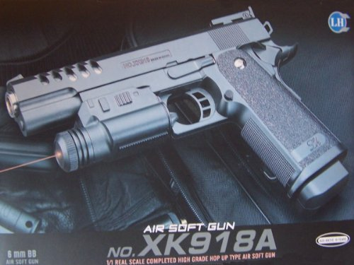 New Xk918a Airsoft Spring Pistol Gun 1/1 Full