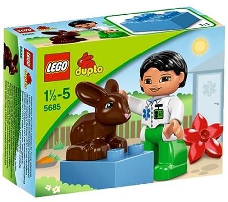 LEGO DUPLO - LEGOville - 5685 - Jouet Premier Age - Le Vétérinaire