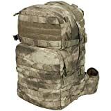 Helikon Ratel 25L MOLLE Backpack Cordura YKK Hydration Rucksack A-TACS AU Camo