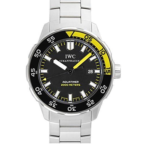 [アイダブリューシー] IWC 腕時計 アクアタイマー オートマティック 2000 IW356808 ブラック メンズ [中古品]