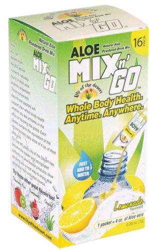 Aloe Mix N' Go Lemonade 16 Packets