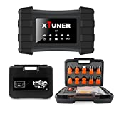 XTUNER T1 Heavy Duty Truck Diagnostic Tool Diesel OBD Scanner OBD II Scan Tool for Cummins Caterpillar ABS Airbag Diagnostic Scanner WIFI & USB Supports Windows XP- Windows 10 - Black