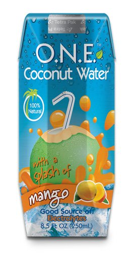 O.N.E. Coconut Water  a Splash of Mango, 8.5oz