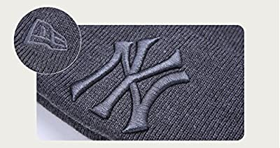 MLB New York Yankees Thick Slouchy Knit Oversized Beanie Cap Hat