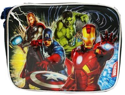 Marvel Avengers Lunch Insulated Lunch Bag -Tote 60998 - 1