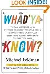 Whad'Ya Know?: Test Your Knowledge wi...