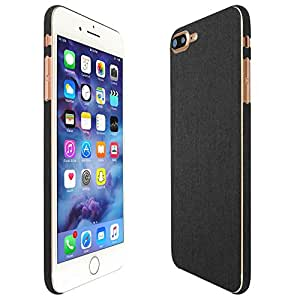 Skinomi® TechSkin - iPhone 7 Plus Screen Protector + Brushed Steel Full Body Skin / Front & Back Wrap Clear Film / Ultra HD and Anti-Bubble Shield
