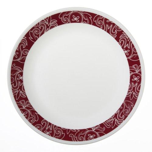 Corelle Bandhani Dinner Plate - Pack of 6