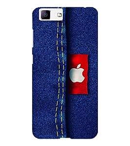 EPICCASE apple jean Mobile Back Case Cover For Vivo X5 (Designer Case)
