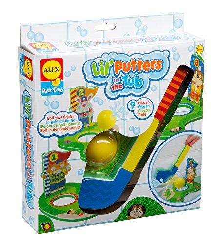 ALEX Toys Rub a Dub Bath Putters Golf in the Tub - 1