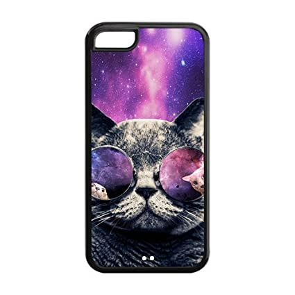 Cat Glasses Background Cat With Glasses Galaxy