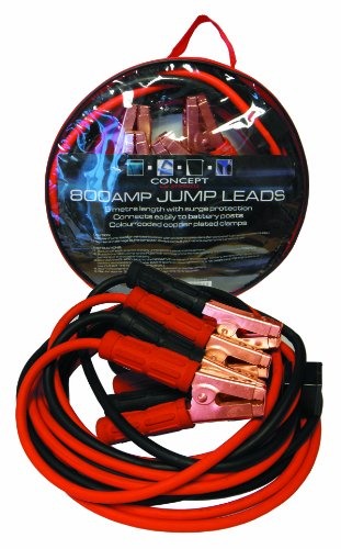 Concept A324 800A Jump Lead 4.5m - No Tangle