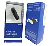 GENUINE NOKIA BLUETOOTH HEADSET BH-108 RETAIL PACK FOR NOKIA ASHA / LUMIA 610 / 710 / 800 / 910BY JUST GENUINE