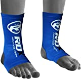 RDX Ankle Foot Support Anklet Pads MMA Brace Guard Kick Boxing Muay Thai Sports : Size XL