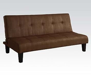 Acme 05674 Modern Chocolate Microfiber Sleeper Sofa