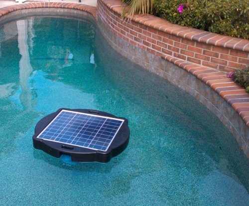 Futuristic Home, Natural Current Water Products NCSF10K Savior 10000-Gallon Solar Pool and Spa Pump and Filter System, Solar Pool Filter Pump